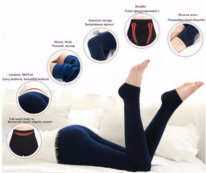 Women's Winter Thick Thermal Leggings - FEM Athletica