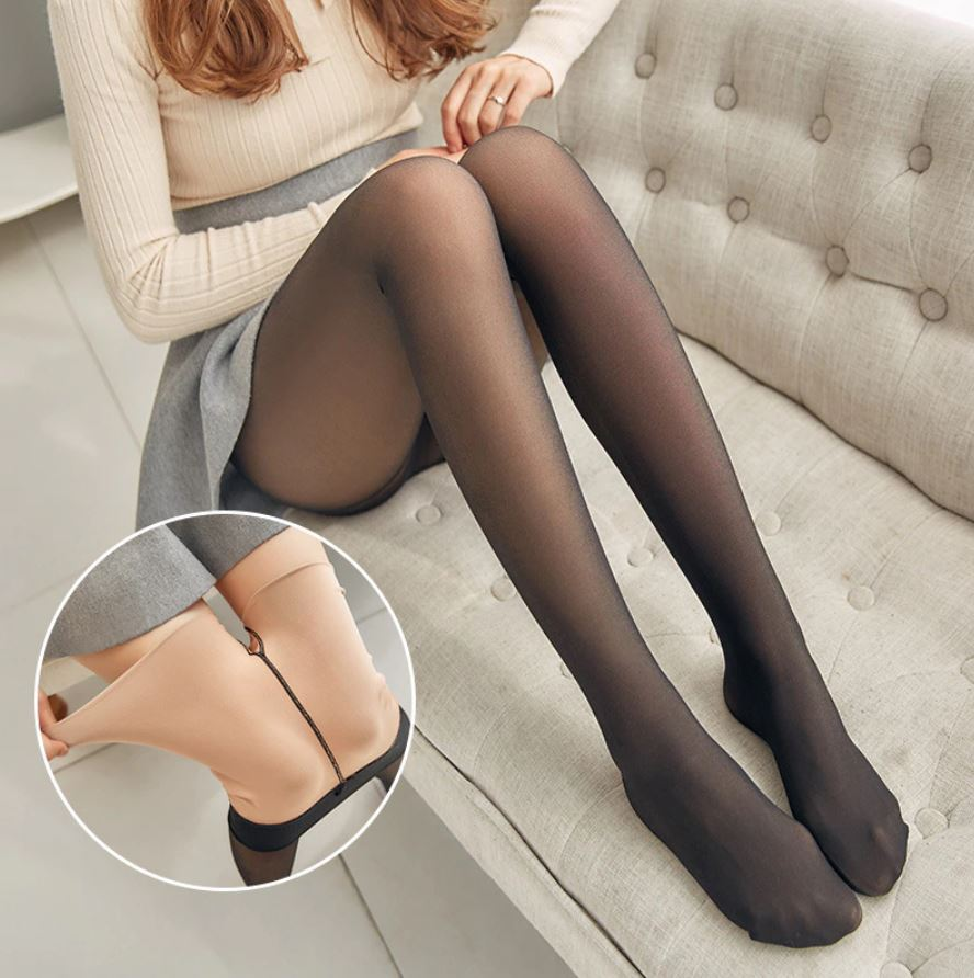Thermal Fleece Sheer Legging