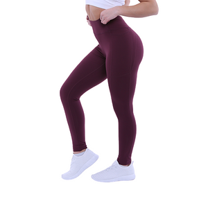 The Flex Leggings (Wine)