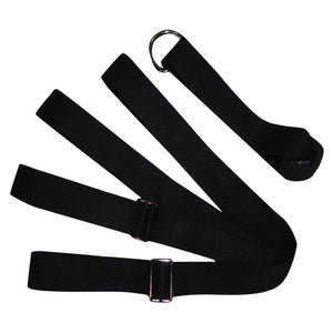 Adjustable Exercise Yoga Strap With Metal D-Ring - FEM Athletica