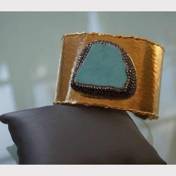 Cabo Turquoise Cuff