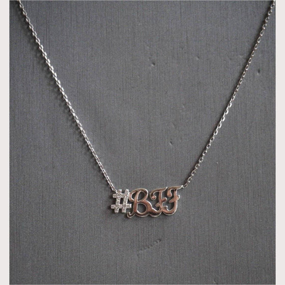 Hashtag BFF Necklace