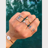 Cross Disc Ring