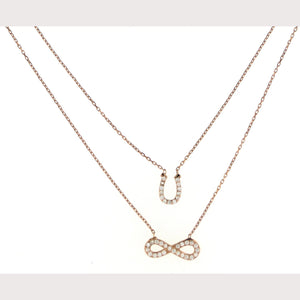 Lucky Infinity Necklace