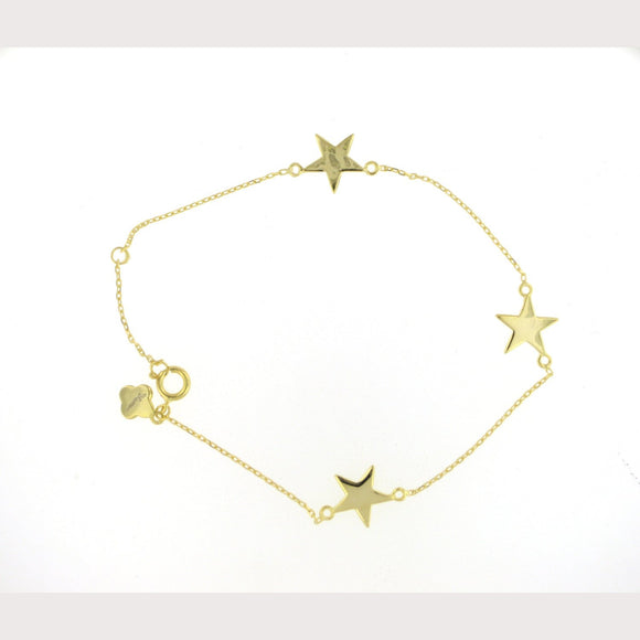SALE---Gold Starlight Bracelet