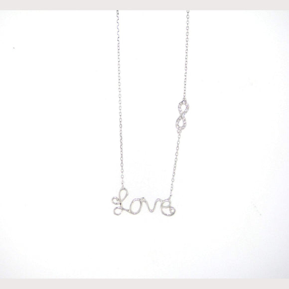 Love Infinity Necklace