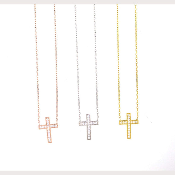 Angelic Pave Cross