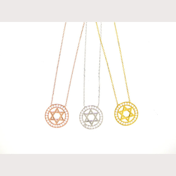 Eternal Star of David Necklace