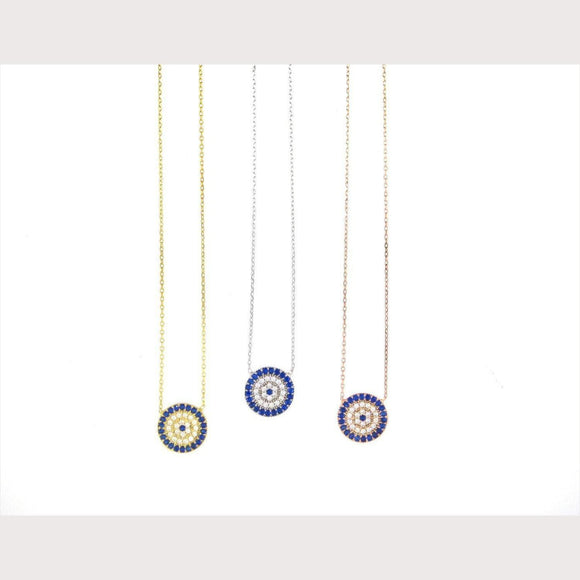 Elegant Evil Eye Necklace