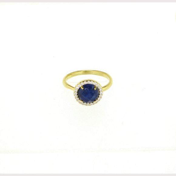 Pacific Blue Gemstone Ring