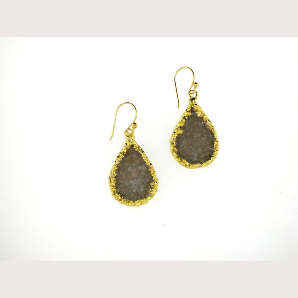 Stardust Druzy Earrings