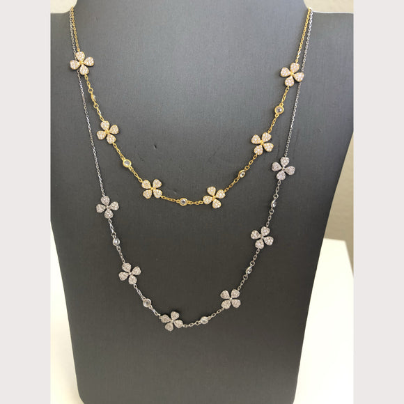 Multi Clover Necklace