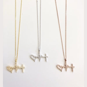 Small Heartbeat Necklace