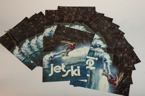 The Original!!!  1979 Kawasaki Jet Ski Brochures