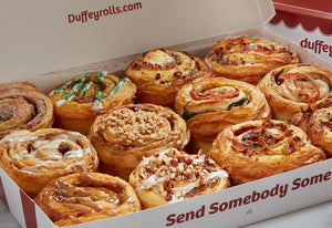 Assorted Duffeyrolls and Savory Swirls