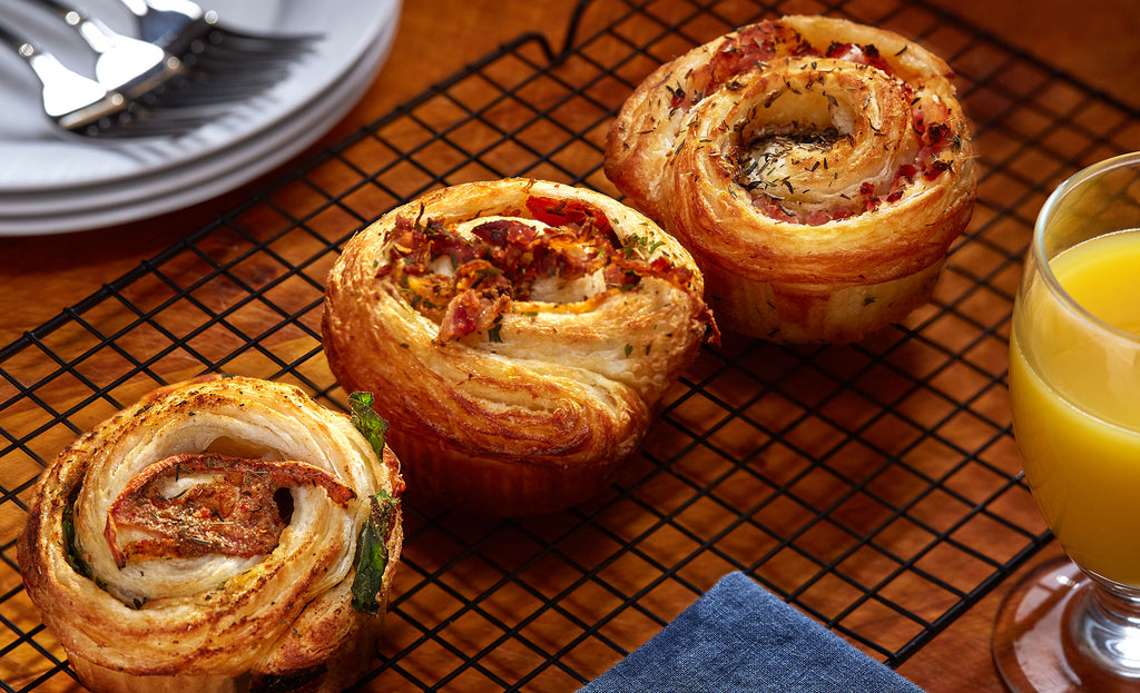 Assorted Savory Swirls