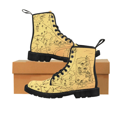 TCoE - Trindavin Map - Ladies Canvas Boots