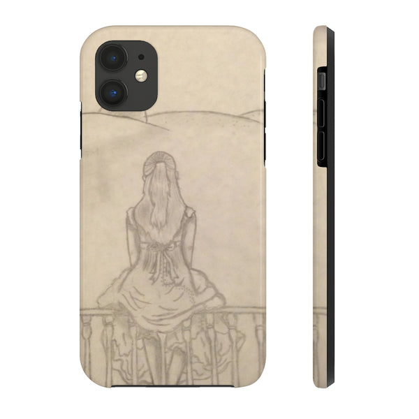 Melainie - Shadow of Secrets - Case Mate Tough Phone Cases