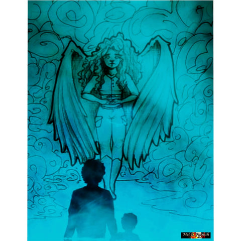 "TSoaGA -""Dark Angel Cythia ~ The Mist"" - Microfiber Duvet Cover"