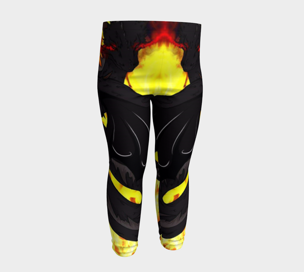 "Dragon Torrick - ""Flame"" - Baby Leggings"