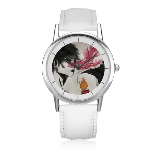 "Torrick - ""wishful thinking"" - Unisex Double-Layer Concise Dial Water-Resistant Quartz"