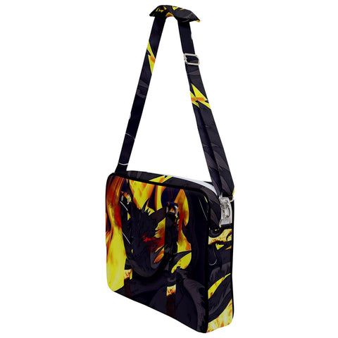 "Dragon Torrick - ""Flame"" - Cross Body Office Bag"
