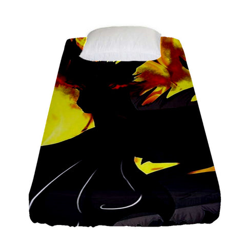 "Dragon Torrick - ""Flame"" - Fitted Sheet (Single Size)"
