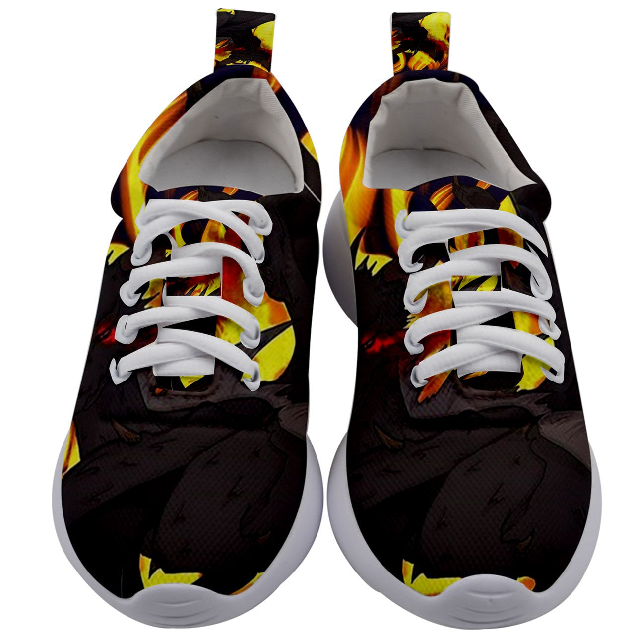 "Dragon Torrick - ""Flame"" - Kids Athletic Shoes"