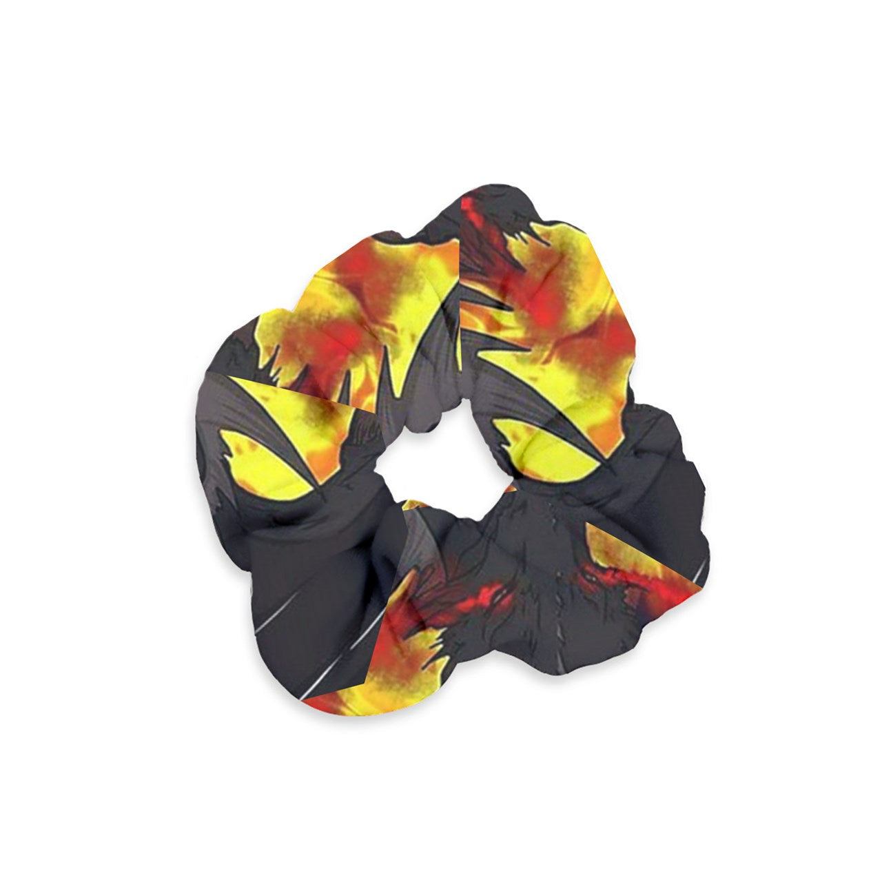 "Dragon Torrick - ""Flame"" - Velvet Scrunchie"