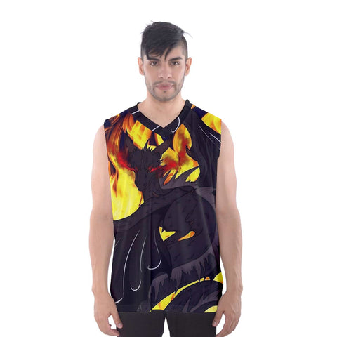 "Dragon Torrick - ""Flame"" - Men's Basketball Tank Top"