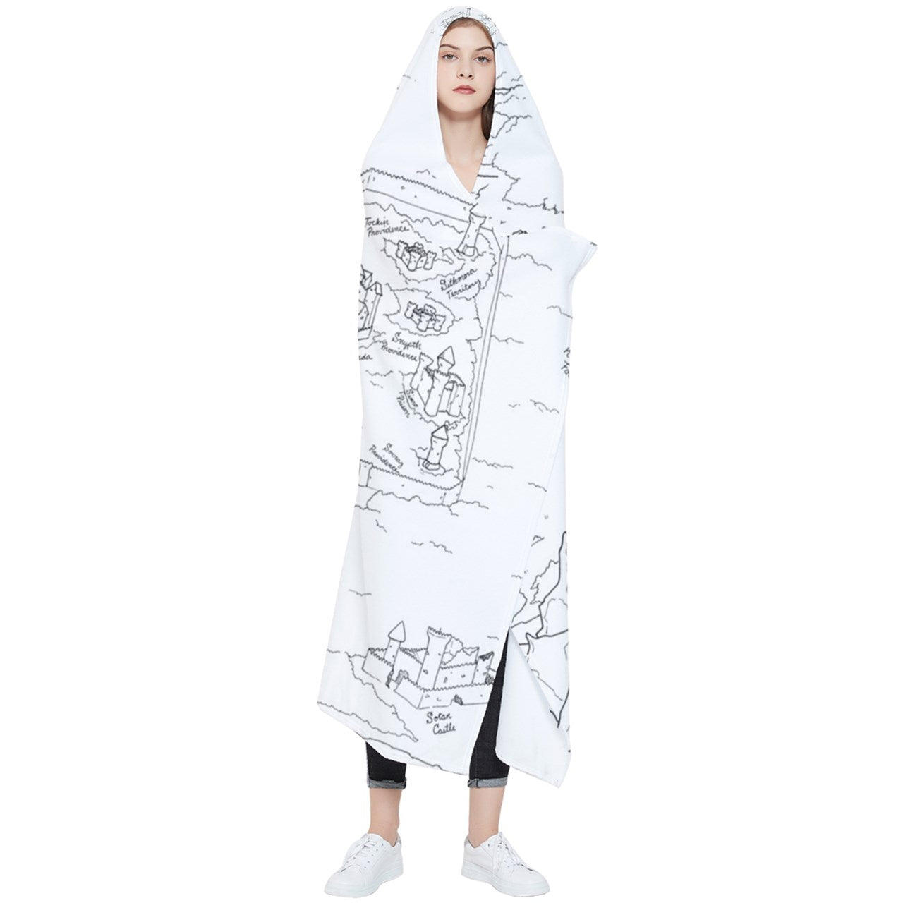 TCoE - Trindavin Map - Wearable Blanket (Adult)