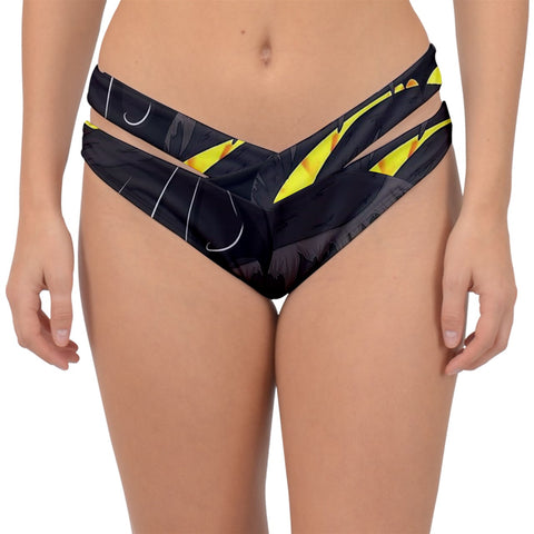 "Dragon Torrick - ""Flame"" - Double Strap Halter Bikini Bottom"