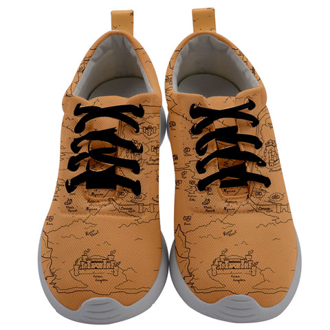 TCoE - Trindavin Map 'parchment' - Men's Athletic Shoes