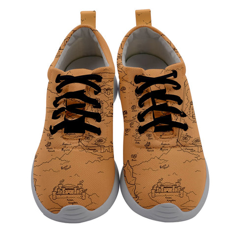 TCoE - Trindavin Map 'parchment' - Ladies Athletic Shoes