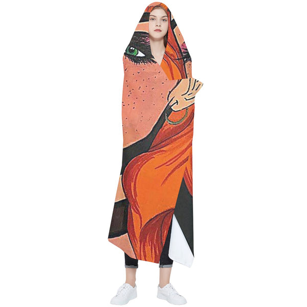 "Cythia - ""Fire"" - Wearable Blanket (Adult)"
