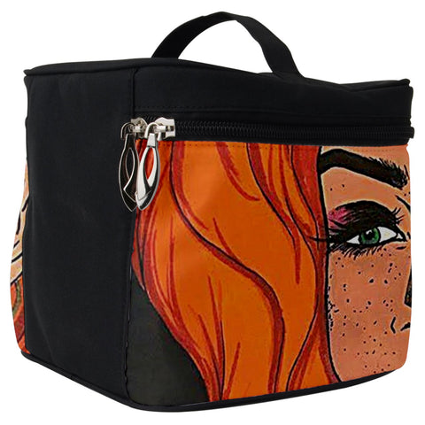 "Cythia - ""Fire"" - Make Up Travel Bag (Big)"