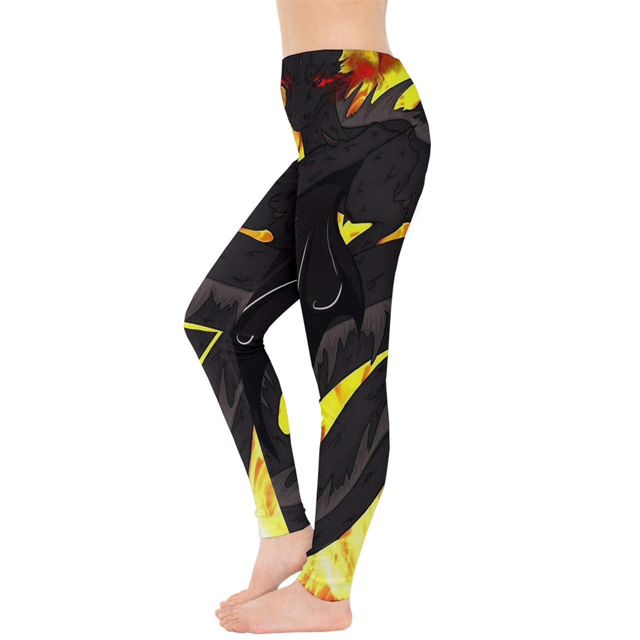 "Dragon Torrick - ""Flame"" - Ladies Leggings"