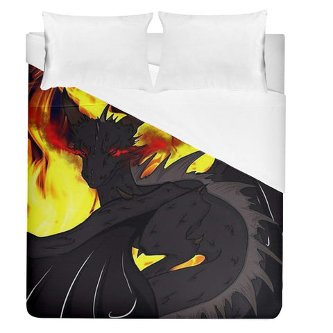 "Dragon Torrick - ""Flame"" - Duvet Cover (Queen Size)"