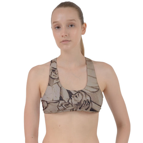 "TCoE - ""Live and Let Die"" - Criss Cross Racerback Sports Bra"