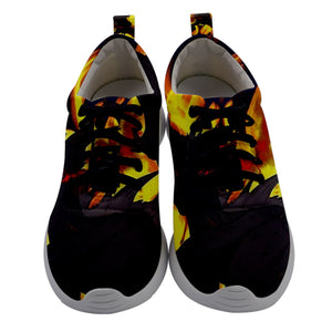"Dragon Torrick - ""Flame"" - Ladies Athletic Shoes"