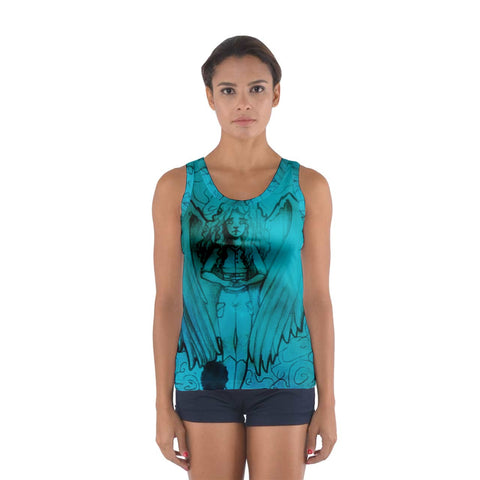 "TSoaGA - Dark Angel Cythia ~ ""The Mist"" - Sport Tank Top"