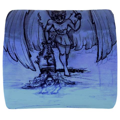 "TSoaGa - Cythia - ""Into The Abyss"" - Velour Seat Cushion"