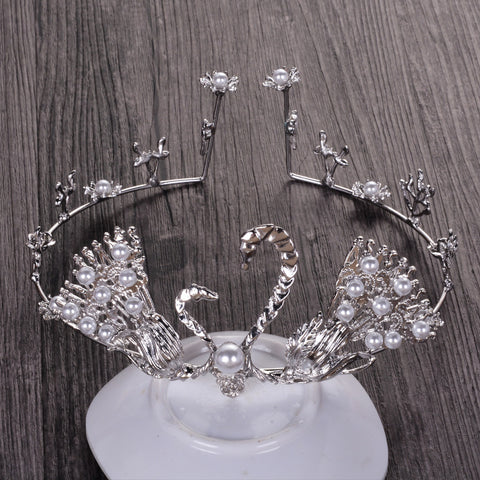 Silver / Golden Swan Crown