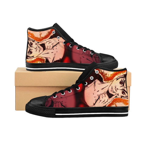 "Torrick & Torin - ""smile"" - Ladies High-top Sneakers"