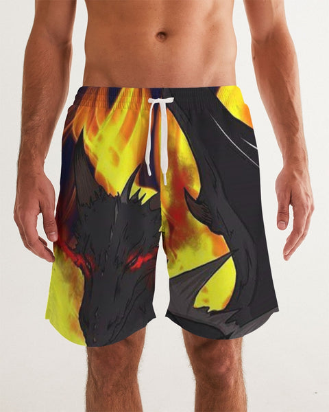 "Dragon Torrick - ""Flame"" -  Men's Swim Trunk"