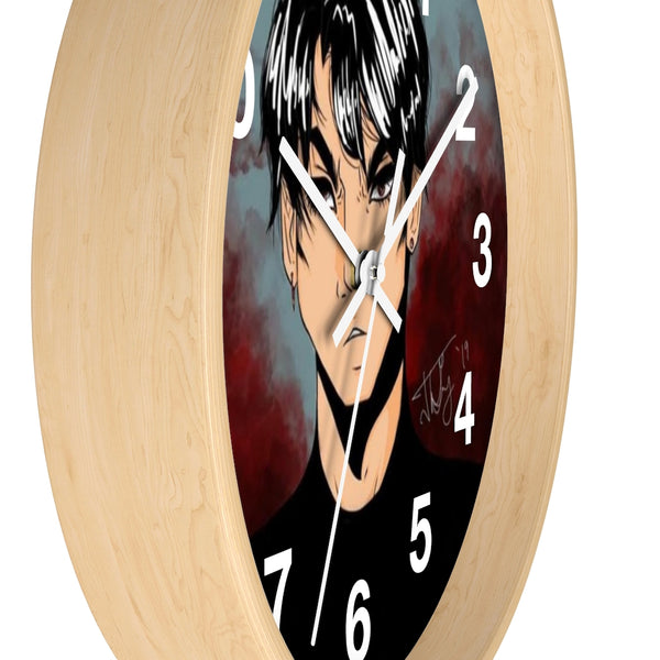 "Torrick - ""brooding boi"" - Wall clock"
