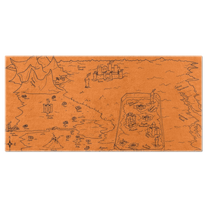 TCoE - Trindavin Map 'parchment' North - Beach Towels