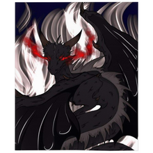 "Load image into Gallery viewer, Dragon Torrick - ""Flame 2"" - Minky Blankets"