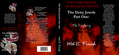 The Deity Jewels: Part One, The Prophecy - (LuLu Hardcover)