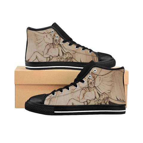 "TCoE - ""Live and Let Die"" - Ladies High-top Sneakers"